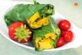 Raw Green Wrap with Mango