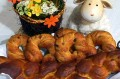 Easter Monday in Hungary: Vegan Braided Milk-Loaf, Sweet Croissants, and Fragrant Sprinkles (In Hungarian)