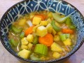 Fun Friendship Veggie Orzo Soup (In French)