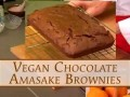 Vegan Chocolate Amasake Brownies (In English)
